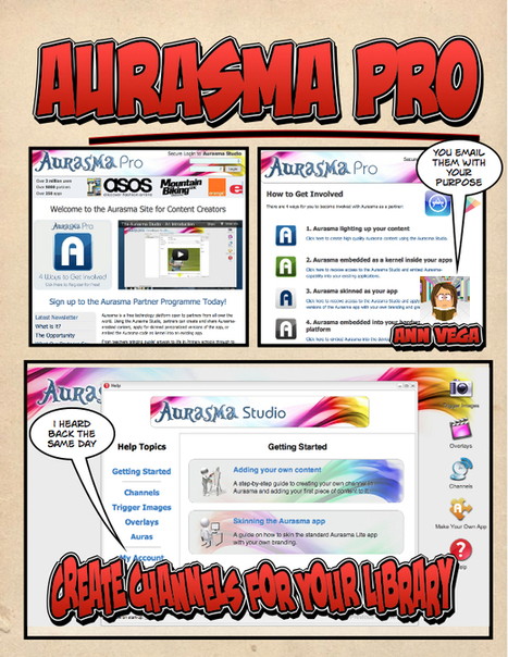 Aurasma Lite on your iPad | Book Week 2015 Books light up our world | Scoop.it
