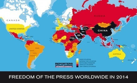 """Internet's Biggest Enemies"" from Reporters without Borders 