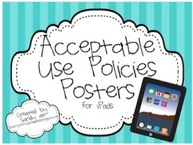 2 Awesome iPad Posters for your Students ~ Educational Technology and Mobile Learning | iEduc | Scoop.it