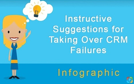 Instructive Suggestions for Taking Over CRM Failures [Infographic] | CRM Data Migration Tips | Scoop.it