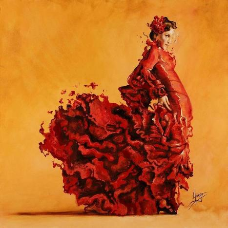 Flamenco On  Fire Forever | Poetry for inspiration | Scoop.it