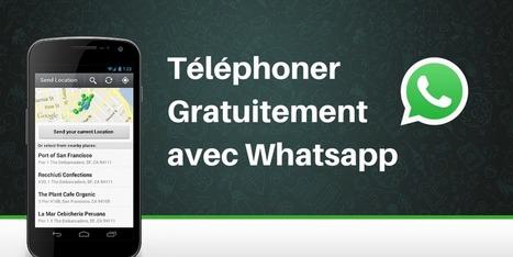 Téléphonez gratuitement avec Whatsapp | Sites et Applis pratiques | Scoop.it