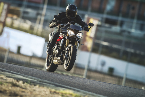 All-new 2016 Speed Triple arrives in dealerships across the UK | Motorcycle Industry News | Scoop.it