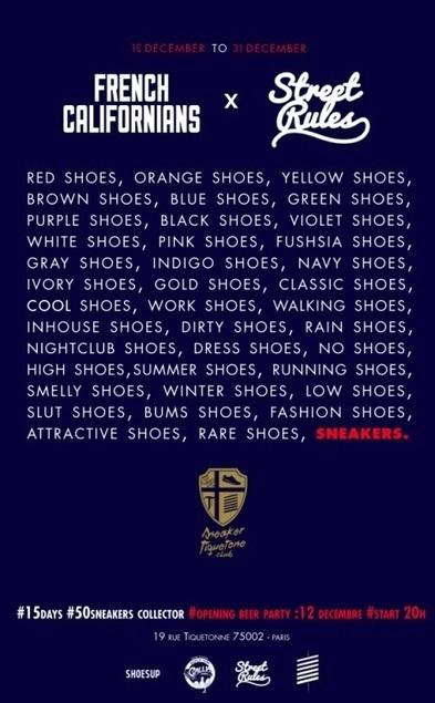 [Lifestyle] Dépôt/vente de sneakers du 12 au 31 décembre by ... | Sneakers_me | Scoop.it