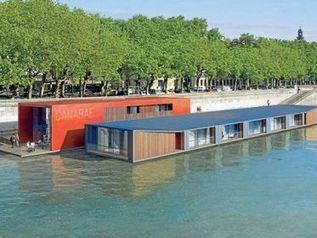 1er hôtel flottant en milieu urbain! | Hospitality Sur et Sous l'eau | Scoop.it