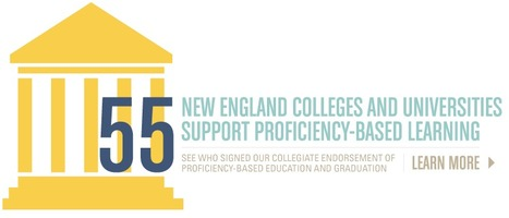 Proficiency-based Learning supported by 55 NE Higher Ed Institutes   Personalized Learning   Scoop.it