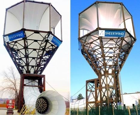 La turbina capaz de generar seis veces mas energía que un molino de viento convencional | tecno4 | Scoop.it