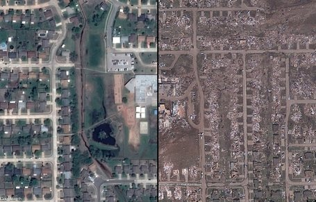 BEFORE/AFTER PHOTOS: Schools And Medical Center Decimated By Tornado | Climate Chaos News | Scoop.it