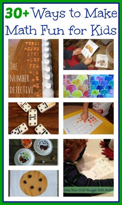 Math Activities: 30 Ways to Make Math Fun For Kids | True Aim | Fun Math for kids | Scoop.it