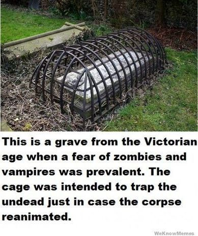 Victorian Zombie Grave | WeKnowMemes | Zombie Mania | Scoop.it