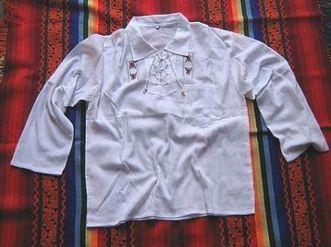 Weißes peruanisches folklore Shirt, Baumwolle | Produkte aus Peru | Scoop.it