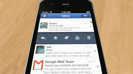 Is a Better iOS Gmail App Coming? Google Buys Sparrow | iPhones and iThings | Scoop.it
