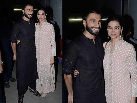 Ranveer Singh & Deepika Padukone In Bajirao Mastani's Outfits, Again | Celebrity Fashion Trends | Scoop.it