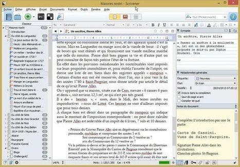 Écrire l'histoire de votre famille : connaissez-vous Scrivener ? | Nos Racines | Scoop.it