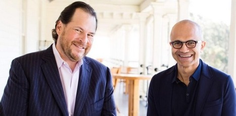 Microsoft And Salesforce Announce Broad Product-Integration Partnership | TechCrunch | Digital-News on Scoop.it today | Scoop.it