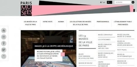 parismusees.paris.fr : les 14 musées de Paris ouvrent leur nouvelle vitrine internet | Réinventer les musées | Scoop.it