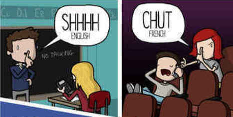 How to 'Shush' People in Different Languages   ...   Library-related   Scoop.it