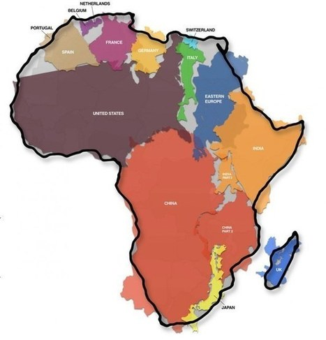 This Graphic Of Africa's Actual Size Will Blow Your Mind | Mrs. Watson's Class | Scoop.it