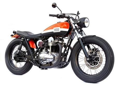 Derecho al Averno: Kawasaki W650 Deus Ex Machina para Randy de Puniet | Derecho al Averno | Scoop.it