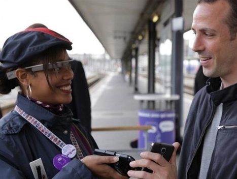 iDTGV expérimente les Google Glass   SNCF   Interactions Design, Innovations and Technologies   Scoop.it