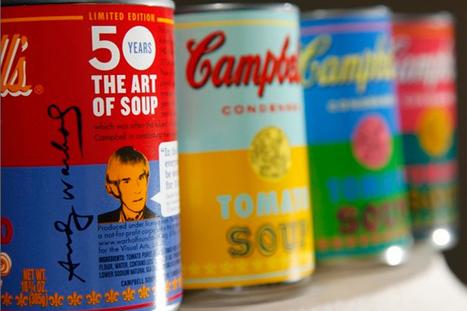 50 anos depois, a Campbell's inspira-se em Andy Warhol   P3   Pop Art - Movimento Artístico   Scoop.it