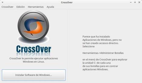 CrossOver, ejecutando aplicaciones de Windows en Linux de manera sencilla | Aplicaciones y Herramientas . Software de Diseño | Scoop.it