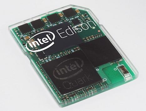 Computadora Intel es del tamaño de una tarjeta SD - unocero | La tecnologia | Scoop.it
