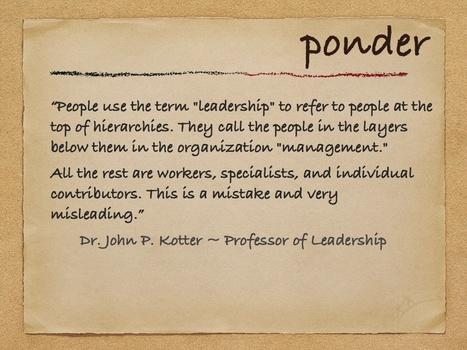Management Is (Still) Not Leadership | HR Transformation | Scoop.it