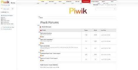 Piwik, Un Web analytics open source mieux que Google Analytics ? | Outils gratuits pour entrepreneurs | Scoop.it