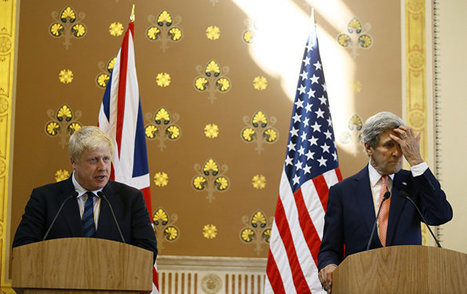 Kerry Hit By Downing Street Door, Terrified During Presser With Johnson | Global politics | Scoop.it