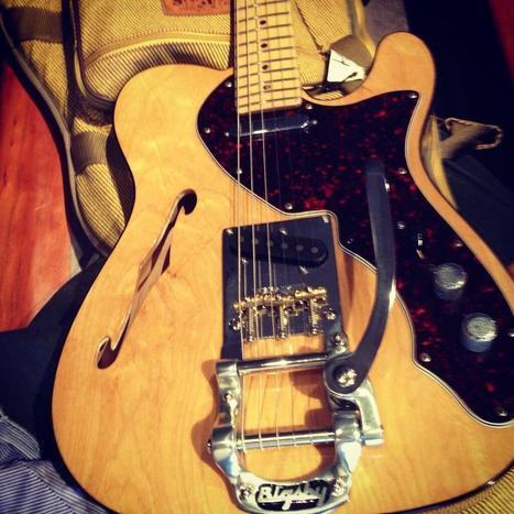 Twitter / EsMatteo: Lookit! @Fender #Telecaster ... | Electric guitars | Scoop.it
