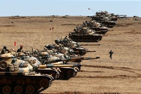 Бросок на Алеппо: турецкая армия открывает в Сирии второй фронт | Global politics | Scoop.it