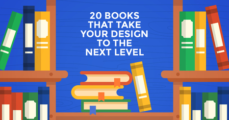 20 Books That Take Your Design to the Next Level | Creative_me | Scoop.it