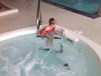 Things my autistic kids love: Swimming. Or, how we're going beyond requesting with AAC | Small But Kinda MightySmall But Kinda Mighty | AAC and Literacy- Bridging the Gap | Scoop.it