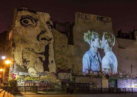 #le_baiser, quand l'amour anime les façades parisiennes | Vivre Paris | Remue-méninges FLE | Scoop.it
