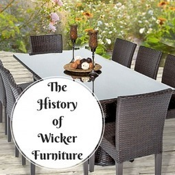 The History of Rattan and Wicker Furniture - Design Furnishings   Outdoor Furnishings   Scoop.it