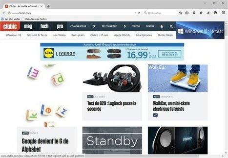 Firefox passe en version 40 et s'adapte à Windows 10 | Seniors | Scoop.it