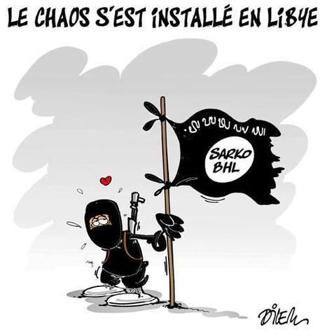 Le chaos c'est installé en Libye   Dessins de Presse   Scoop.it