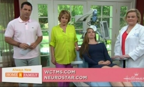 Watch TMS Demo & Interview of West Coast TMS' Dr Stein on Hallmark Channel's Home & Family Show | West Coast Life Center | Scoop.it