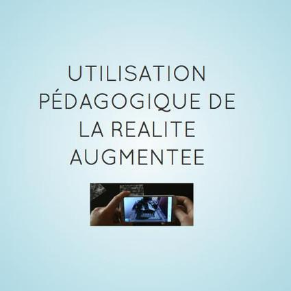 Utilisation pédagogique de la réalité augmentée by Christophe David | Réalité augmentée, technologies, usages pédagogiques | Scoop.it