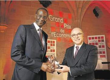 Tidjane Thiam, Grand Prix de l'Economie 2013 | Africa Business | Scoop.it