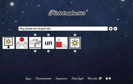 Pictotraductor, para convertir frases en pictogramas personalizables | EDUCACION | Scoop.it