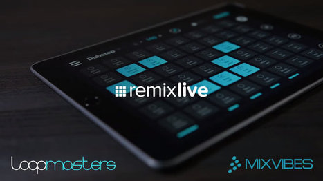 Remixlive Free iOS App + Free Pack by Loopmasters | Music Producer News - Loops & Samples | Scoop.it