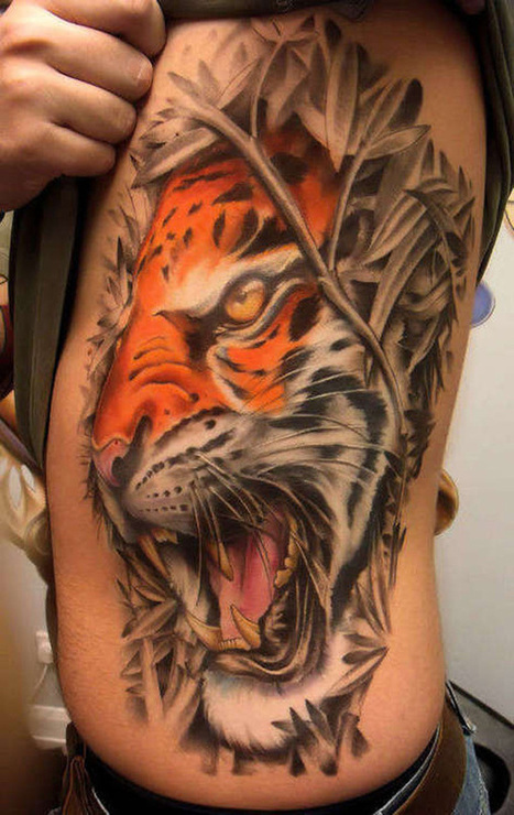 50 Amazing Tiger Tattoos Design | Incredible Snaps | incredible snaps | Scoop.it