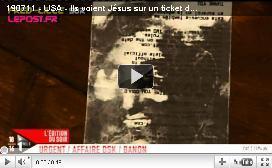 Jésus fait une apparition... sur un ticket de caisse | Mais n'importe quoi ! | Scoop.it