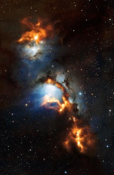 Tra le nubi di polvere cosmica della nebulosa M78 | astronotizie | Scoop.it
