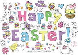 Happy Easter!. CEIP San Miguel (Armilla) REPASO TRIMESTRAL. 2º de Primaria #edtech #edchat | IEARN - GLOBAL EDUCATION | Scoop.it
