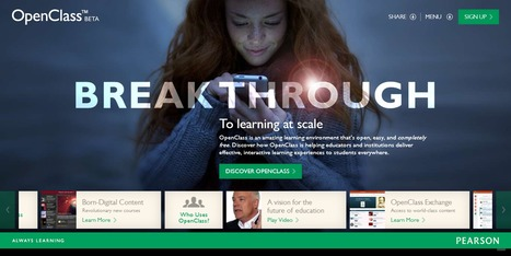 OpenClass : Discover a learning environment that goes beyond the LMS | Time to Learn | Scoop.it