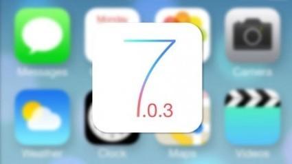 iOS 7.0.3 con mejoras y corrección de algunos errores....   Desarrollo de Apps, Softwares & Gadgets:   Scoop.it