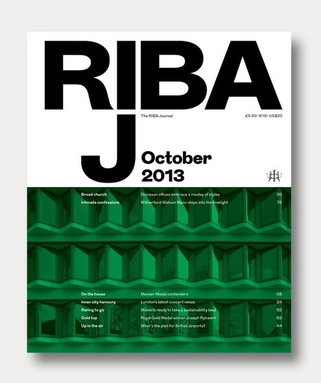 Creative Review - New look for the RIBA Journal | M-Shafeek | Scoop.it